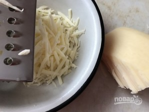 Песочный пирог с сыром - фото шаг 4