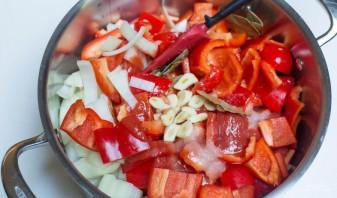 Салат из перца на зиму - фото шаг 3