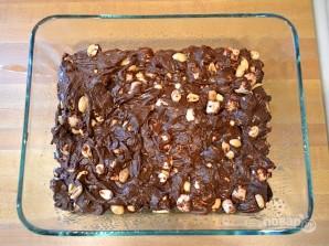 Шоколадные батончики с орехами - фото шаг 3