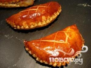Яблочные конвертики с миндалем и изюмом - фото шаг 19