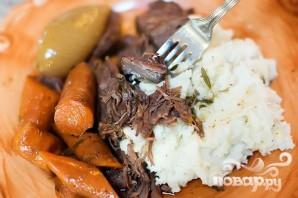 Жаркое из говядины и моркови с вином - фото шаг 7
