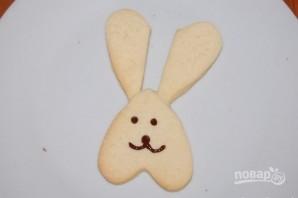 """Печенье """"Пасхальный кролик"""" - фото шаг 7"""