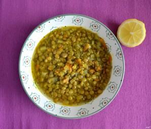 Суп из чечевицы вегетарианский - фото шаг 5