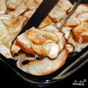 Яблоки, запеченные с черствым хлебом - фото шаг 8