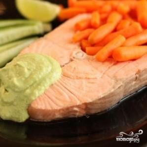 Лосось с соусом из авокадо - фото шаг 8