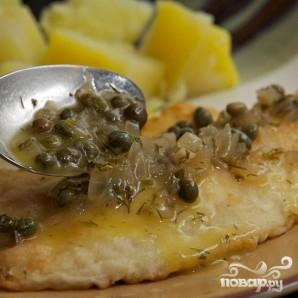 Соус для рыбы из вина, масла и каперсов - фото шаг 10