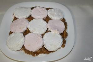 Торт из зефира без выпечки с печеньем - фото шаг 3