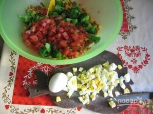 Салат из чечевицы - фото шаг 3
