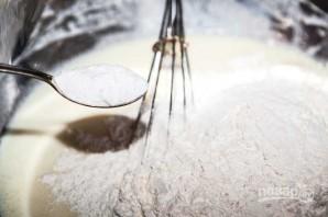 Тесто на кефире для пирога с капустой - фото шаг 6
