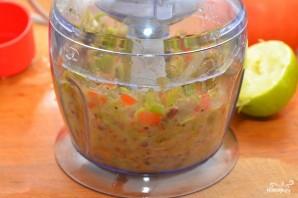 Салат с фисташками - фото шаг 4