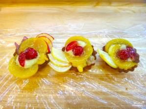 Тарталетки с фруктами в желе - фото шаг 20