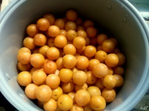 Варенье из желтой алычи - фото шаг 1