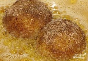 Картофельные шарики с фаршем - фото шаг 7