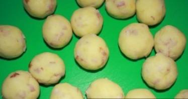 Картофельные крокеты с ветчиной - фото шаг 8