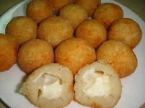 Сырные шарики в кляре - фото шаг 10