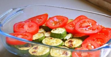 """Овощи под соусом """"Бешамель"""" с сыром - фото шаг 5"""
