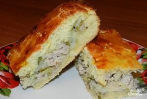 Пирог со свининой и луком - фото шаг 7