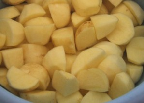 Кабачки тушеные с картофелем - фото шаг 3