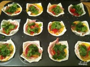 Тарталетки с сыром и яйцом - фото шаг 2
