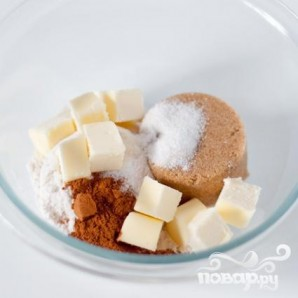Маффины с посыпкой и ванильной глазурью - фото шаг 1