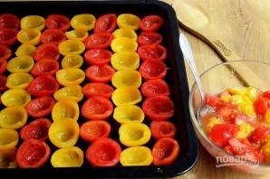 Вяленые помидоры в духовке (на зиму) - фото шаг 2