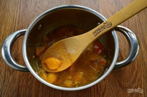 Варенье из хурмы с апельсином - фото шаг 3