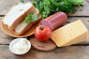 Сочные горячие бутерброды - фото шаг 1