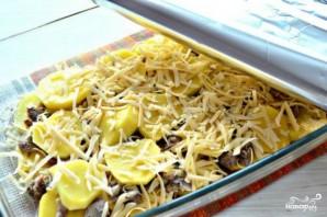 Запеканка картофельная с консервами - фото шаг 4