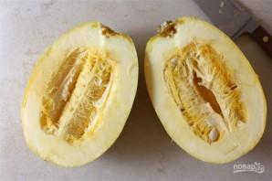 Пирог из тыквы и спаржи - фото шаг 1