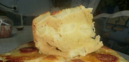 Ананасовый пирог в мультиварке - фото шаг 8