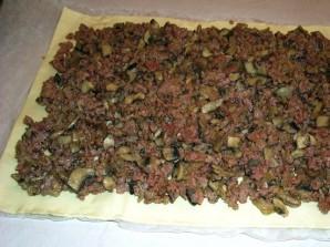 Мясной пирог в духовке - фото шаг 6