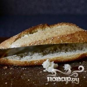 Сэндвичи с фрикадельками, сыром и луком - фото шаг 1