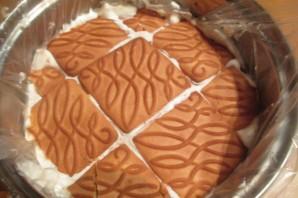 Торт без выпечки с ананасами - фото шаг 5