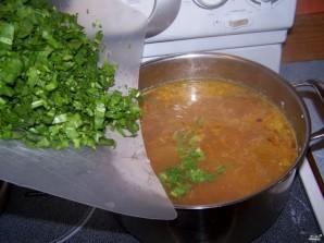 Суп со щавелем и курицей - фото шаг 6