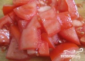 Курица в соусе из помидоров и перцев - фото шаг 3