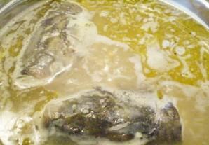 Рыбный суп с пшеном - фото шаг 4