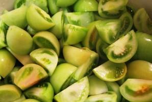 Аджика из зеленых помидоров - фото шаг 1