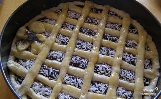 Открытый пирог с повидлом - фото шаг 7