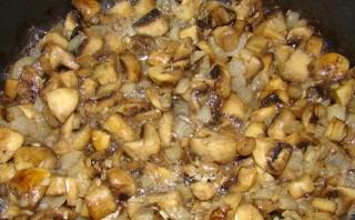 Лаваш с грибами и сыром - фото шаг 1
