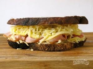 Сэндвич с ветчиной и ананасами - фото шаг 5