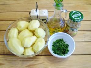 Картошка с зеленью - фото шаг 1
