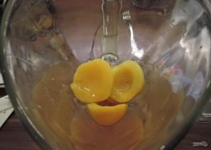 Чизкейк с персиками - фото шаг 16