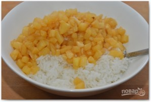 Рис с ананасами - фото шаг 4