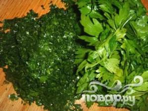 Стейк на ребре с сыром, оливками и травами - фото шаг 4