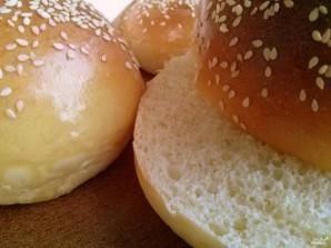 Булочки для бургеров - фото шаг 9