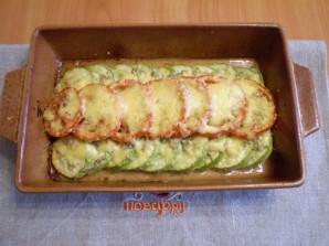 Кабачки, запеченные с помидорами и сыром - фото шаг 6