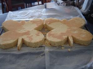 """Торт """"Бабочка"""" - фото шаг 2"""