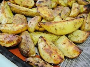 Гарнир из картофеля в духовке - фото шаг 5