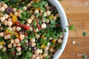 Полезный салат с нутом - фото шаг 4
