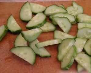 Салат к тушеной картошке - фото шаг 2